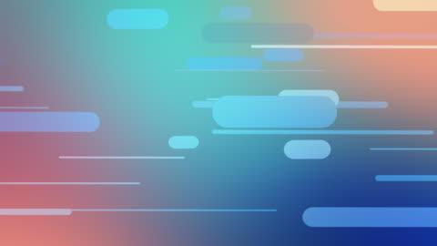 vídeos y material grabado en eventos de stock de resumen línea punteada color de fondo - curva forma