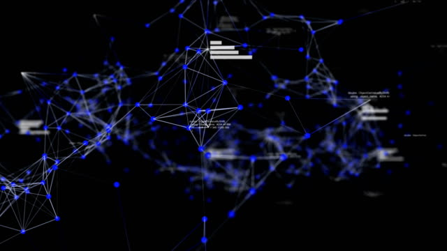 Abstract Data and Connections in Cyber Space with Random Number, Business and Financial Concept, Technology Background Abstract Data and Connections in Cyber Space with Random Number, Business and Financial Concept, Technology Background. Blue color theme. organized group stock videos & royalty-free footage