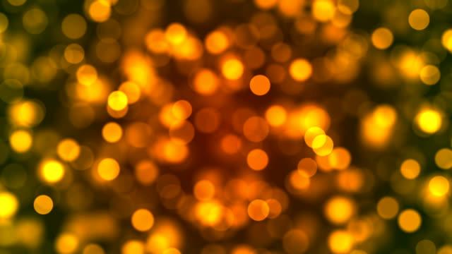 vidéos et rushes de résumé defocused lights background bokeh stock vidéo 4k - lumière noël