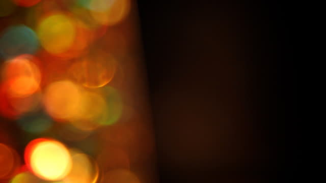 Abstract defocused lights - loopable, copy space video