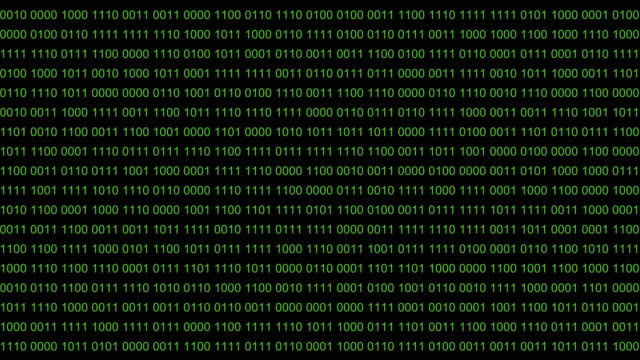 Abstract digital background. Digital Data run Matrix Effect. Background backdrop videos numbers changes. Green digit numbers. Black background. Seamless loop. video