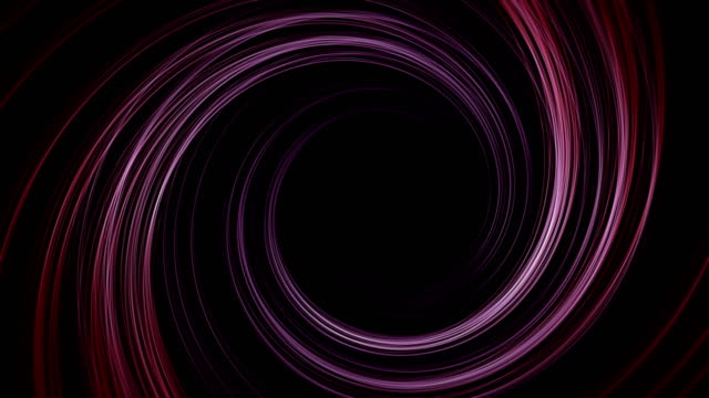 Abstract digital cyber tunnel background video