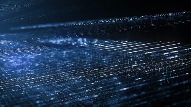 abstraktes hintergrundkonzept der digitalen technik. - überprüfung stock-videos und b-roll-filmmaterial