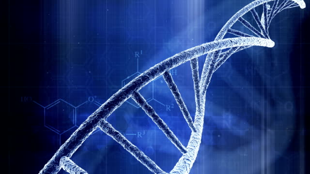 Abstract DNA Science Background video