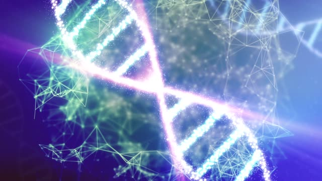 Abstract DNA. video
