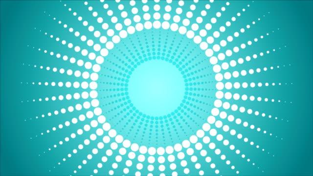 抽象ドットの梁ビデオアニメーション - 斑点点の映像素材/bロール