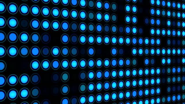 Abstract Electronics LEDs Panel
