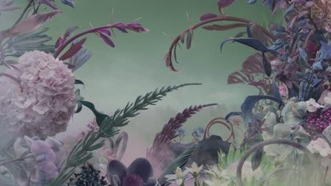 vidéos et rushes de jardin de fées résumé - imagination
