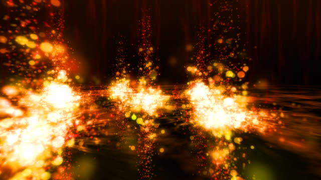 Abstract fantasy background, seamless loopable video