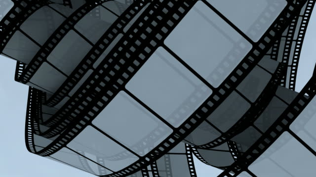 Abstract film background video