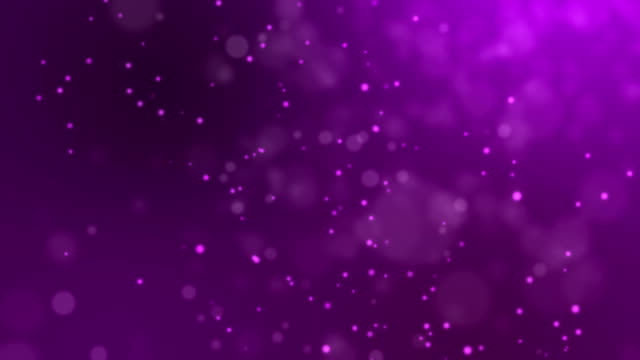 Abstract fire bokeh on purple background video
