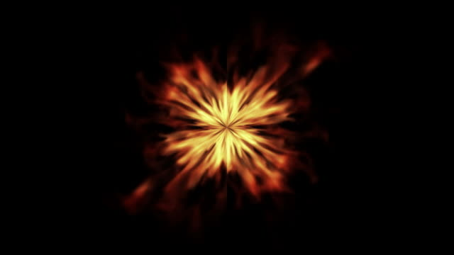 Abstract Fire - HD, Loop video