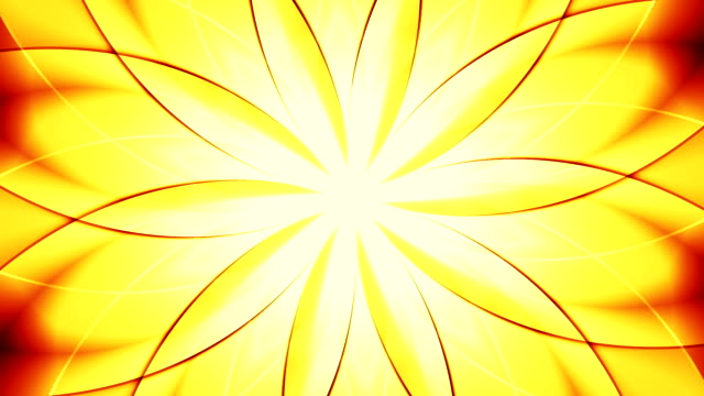 Abstract floral background, gold tint video