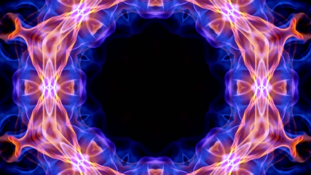 Abstract Flower Kaleidoscope Technology Animation, Background, Rendering, Loop Abstract Flower Kaleidoscope Technology Animation, Background, Rendering, Loop, 4k light natural phenomenon stock videos & royalty-free footage