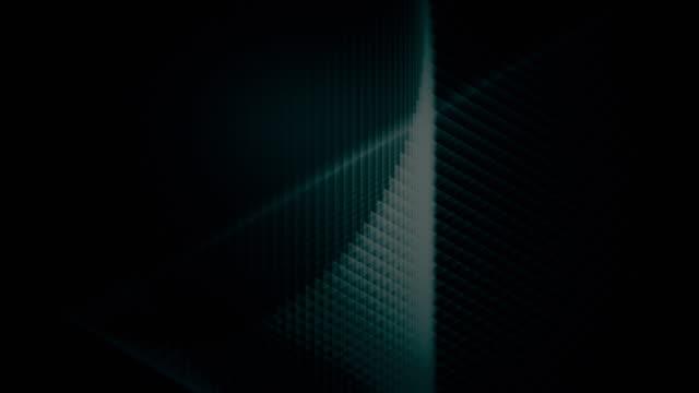 sfondo frattale astratto - spirale ricciolo video stock e b–roll