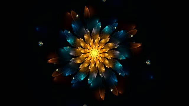 abstrakta fractal footage för kreativ design - fraktal bildbanksvideor och videomaterial från bakom kulisserna