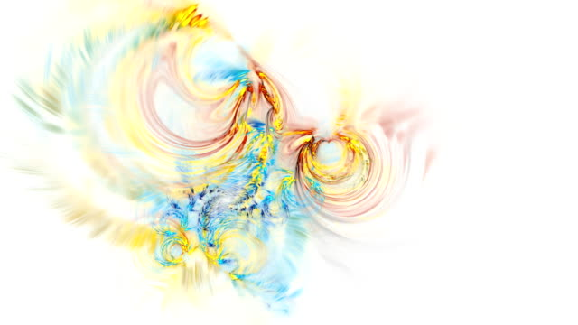 Abstract fractal footage for creative design video