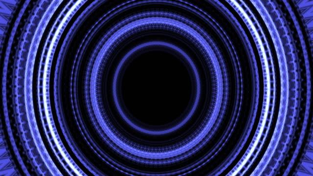 Abstract futuristic sci fi warp tunnel with . Motion graphic internet, speed. Futuristic big data visualization, hi tech background. 3D rendering