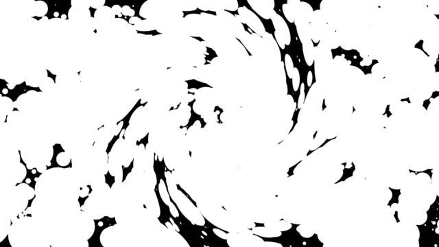 vídeos y material grabado en eventos de stock de máscaras de transición futuristas abstractas. gráficos animados en blanco y negro para cambiar fondos - shield
