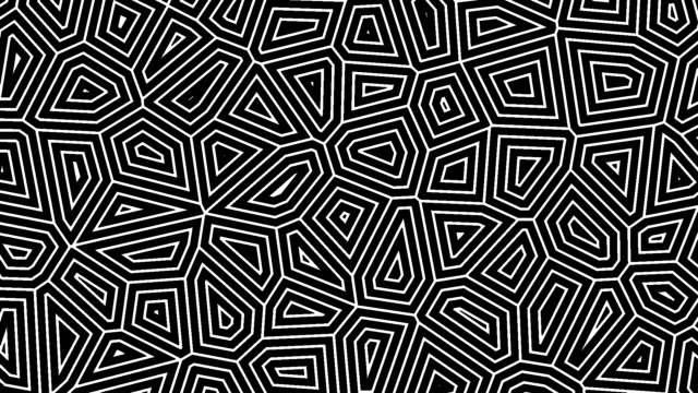 Abstract geometric background. Thin lines move endlessly.