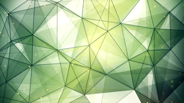 abstract geometric background triangles and lines loop video