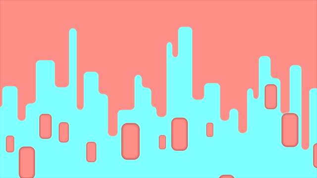 Abstract geometric minimal video animation video