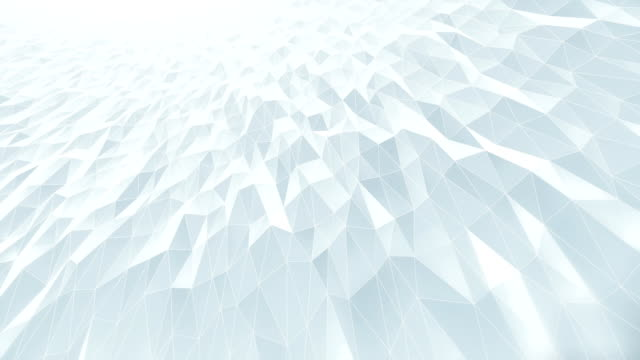 Abstract Geometric Pattern Background (White) - Loop