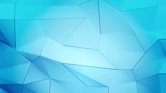 Abstract geometric triangle background in endless loop. video