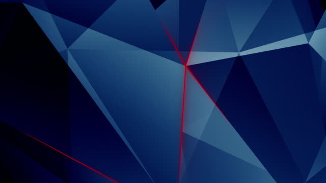 Abstract geometric triangle background. Loop. video