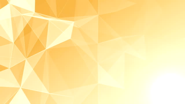 Abstract Geometric Triangles Background gold video