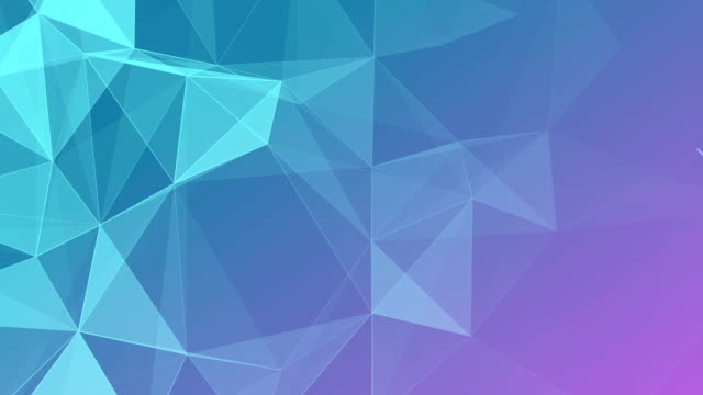 Abstract Geometric Triangles Background violet video
