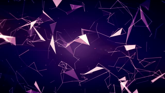 Abstract Geometric Triangles (Loopable) video