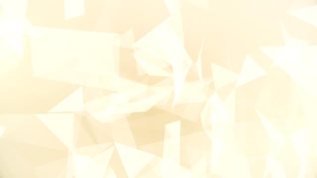 Abstrakte geometrische Dreiecke (Endlos wiederholbar) – Video