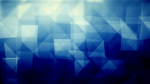 Abstract Geometric Triangles (Loopable) Soft Background blue background stock videos & royalty-free footage