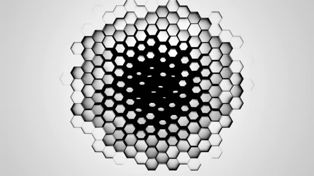 Abstract geometry background - Loop 4k
