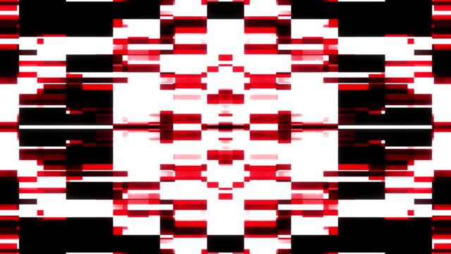 sfondo glitch astratto - full hd format video stock e b–roll