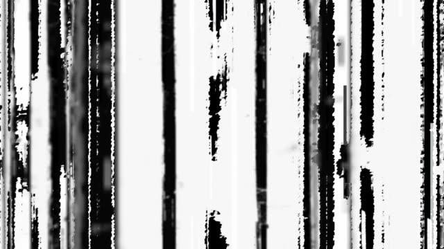 abstract glitch graphic mask. - filo metallico video stock e b–roll