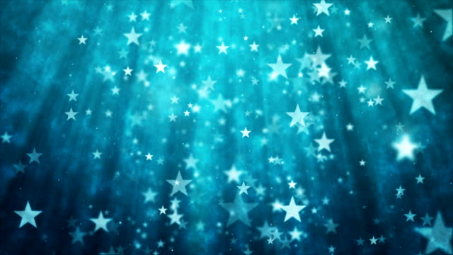 abstract glittering star particles motion background - star стоковые видео и кадры b-roll