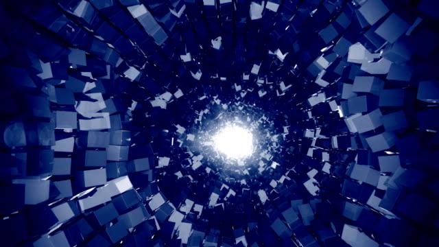 4k abstrakt glittrande tunnel. - 4 kilometer bildbanksvideor och videomaterial från bakom kulisserna