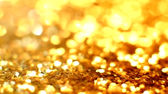 Abstract gold background with copy space video