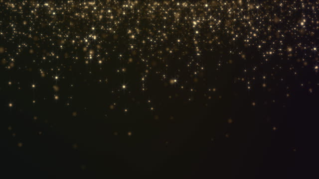 abstract gold particles background - 7 star stock videos and b-roll footage