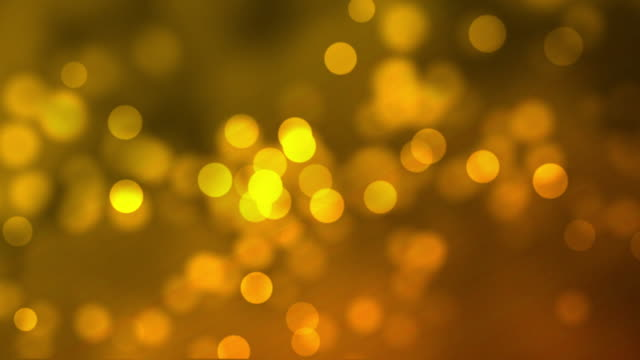 Abstract Golden Colour Moving Particle Background video