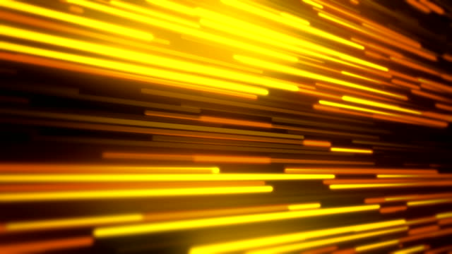 abstract  golden lines loopable background footage - sfondo multicolore video stock e b–roll