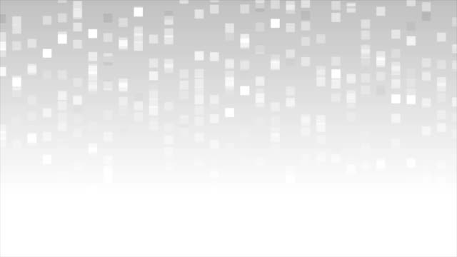 Abstract grey shiny mosaic video animation Abstract grey shiny mosaic motion background. Video animation Ultra HD 4K 3840x2160 web banner stock videos & royalty-free footage