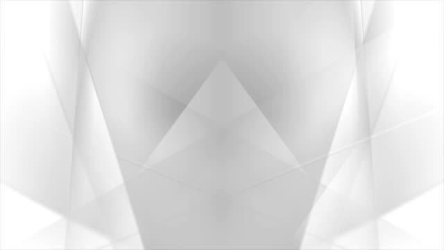 Abstract grey white stripes video animation video