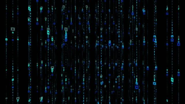 4k abstrakt rutnät och linjer digital bakgrund animation loopable element, digital wave partiklar form concept - designelement bildbanksvideor och videomaterial från bakom kulisserna