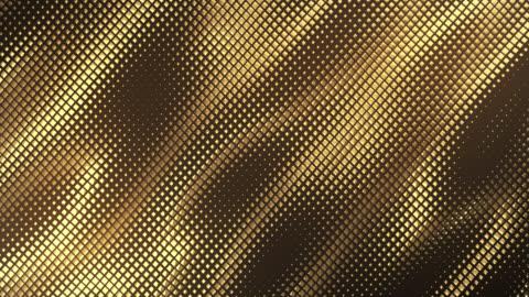 vídeos y material grabado en eventos de stock de fondo de cuadrícula abstracta (oro oscuro) - bucle - imagen en bucle