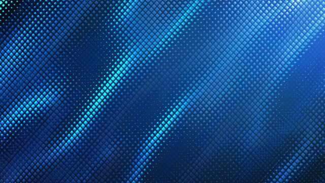 Abstract Grid Background (Blue) - Loop