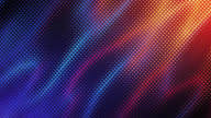 istock Abstract Grid Background (Blue And Orange) - Loop 1171924854