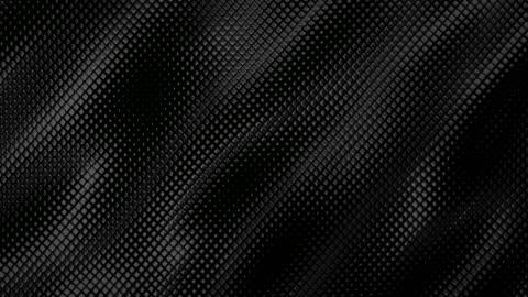 vídeos de stock e filmes b-roll de abstract grid background (black) - loop - efeito texturado